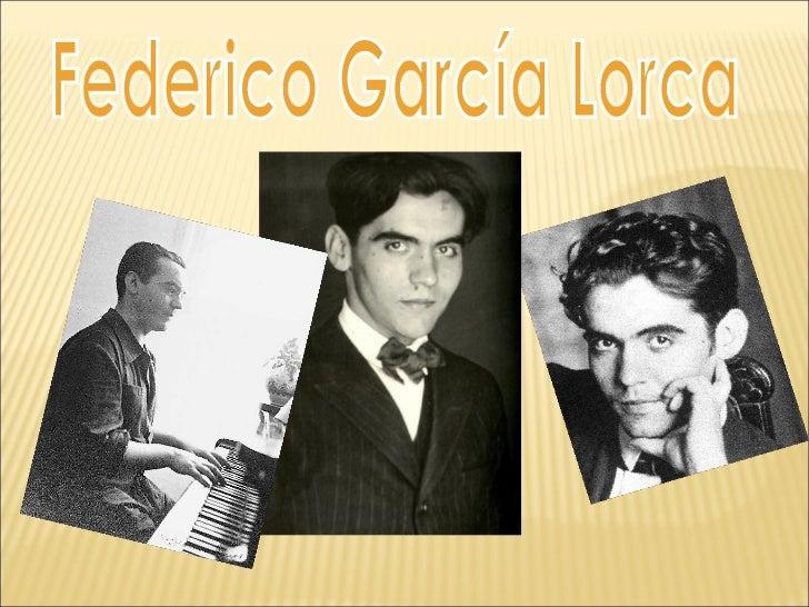    Nace en Fuente Vaqueros, en la provincia    de Granada el 5 de junio de 1898.    Le pusieron el nombre de Federico de...