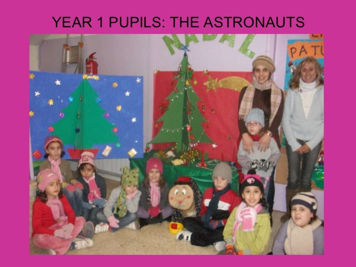 YEAR 1 PUPILS: THE ASTRONAUTS
