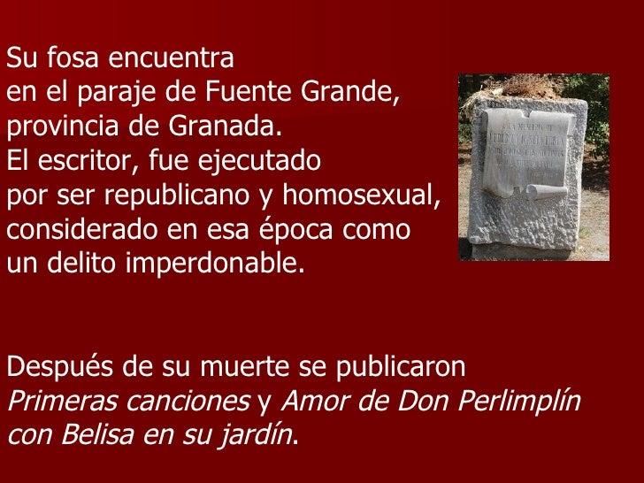 Federico garcia lorca webstquest su vida y muerte for Amor de don perlimplin con belisa en su jardin