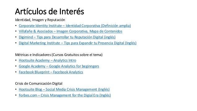 Artículos de Interés Identidad, Imagen y Reputación • Corporate Identity Institute – Identidad Corporativa (Definición amp...