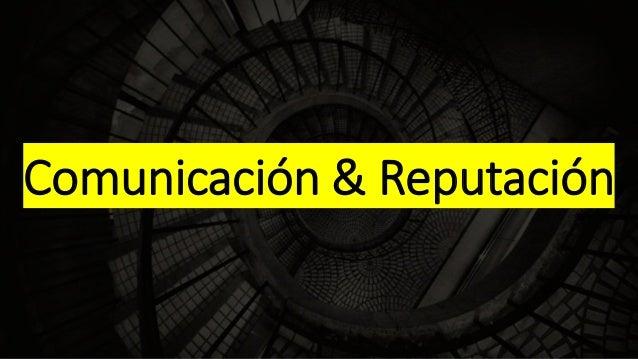 Comunicación & Reputación