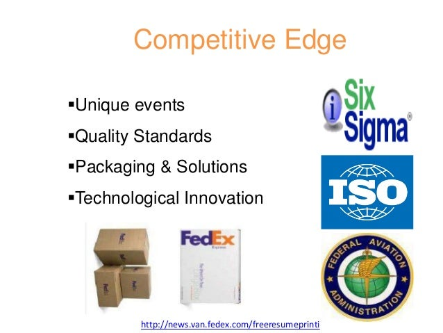 fedex study This hrm case study highlights the innovative hr practices and programs launched by fedex since its early years the people-service-profit (psp) philosophy which fedex introduced is also discussed.