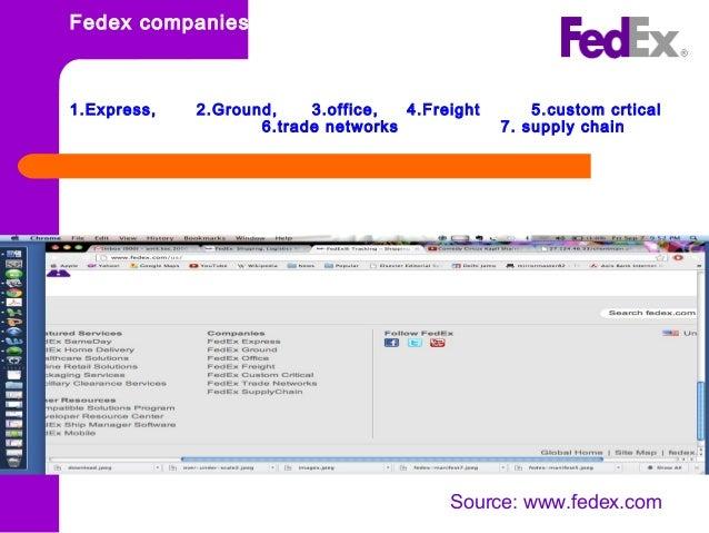 SCM: Fedex