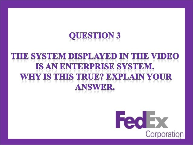 FEDEX VS UPS Harvard Case Solution & Analysis