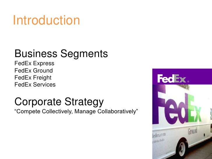 Description about fedex corporation commerce essay