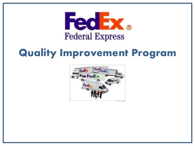 federal express quality improvement programthe leading