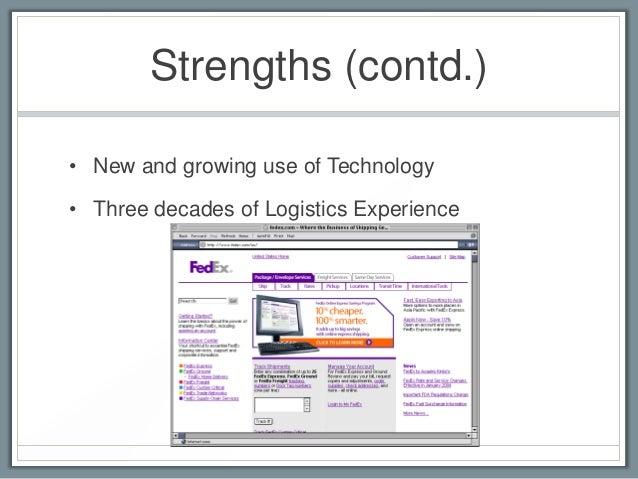 Fedex swot presentation