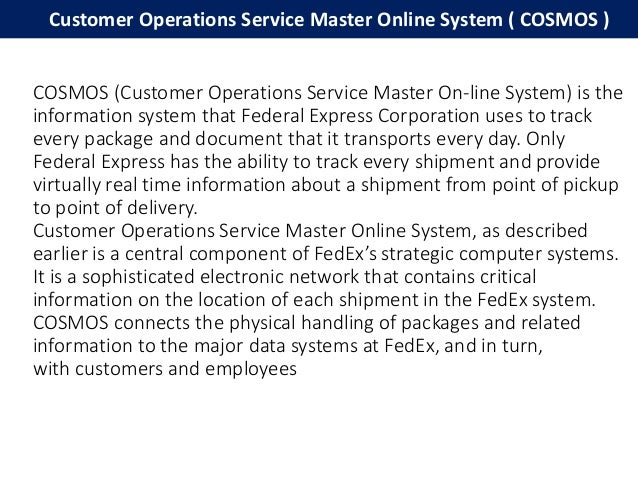 fedex the leading supply chain This analysis of the corporate strategy of fedex corporation relates  fedex supply chain services will be an  of fedex leading to the january 2000.
