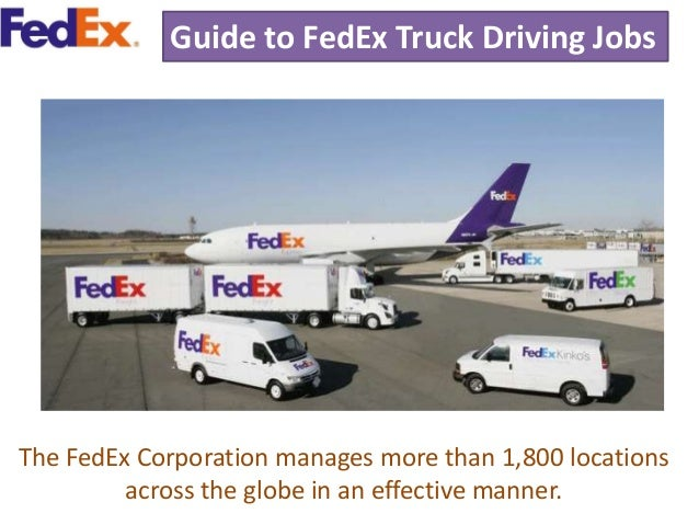 3 guide to fedex truck driving jobs