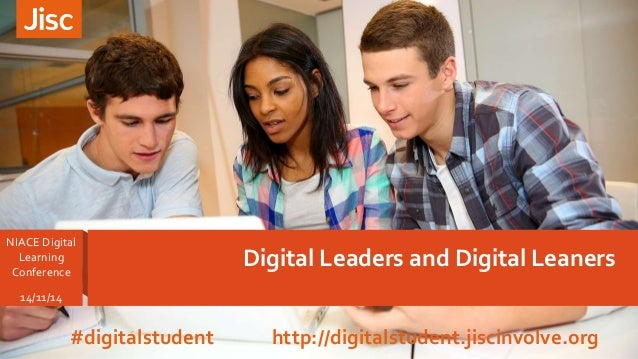 Digital Leaders Digital Learners NIACE Digital Learning workshop