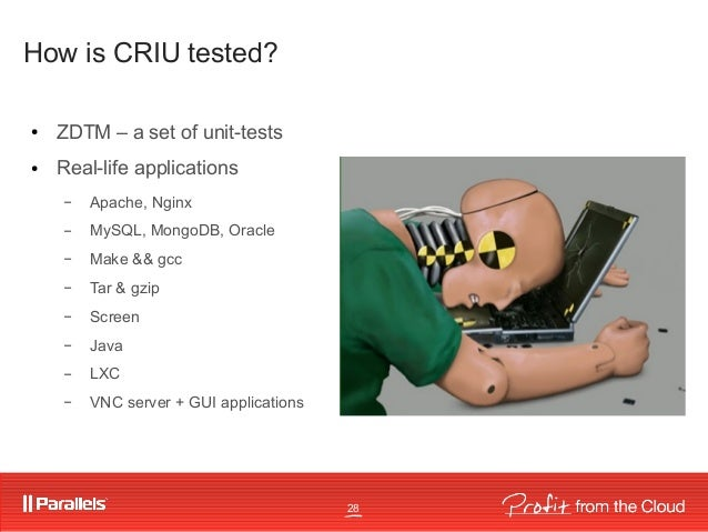 Fedora Virtualization Day: Linux Containers & CRIU