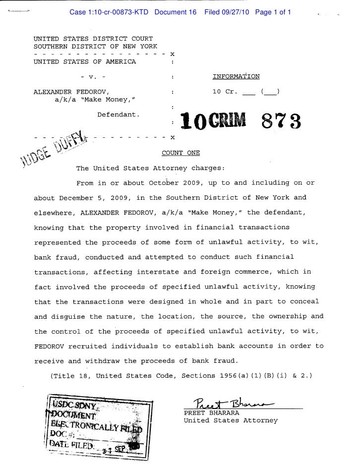 Case 1:10-cr-00873-KTD Document 16   Filed 09/27/10 Page 1 of 1