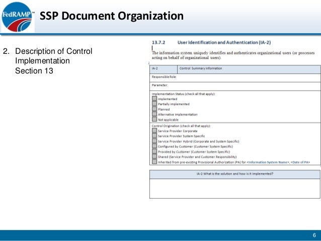 fedramp ssp example Fedramp developing-system-security-plan-slides