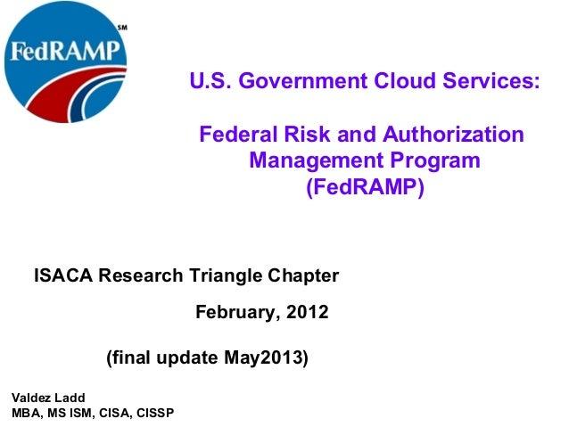 fedramp - federal agencies & cloud service providers meet fisma 2.0