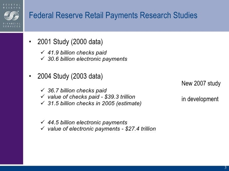 The 2013 Federal Reserve Payments Study