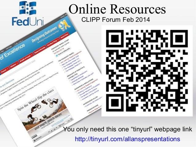 Federation University CLIPP Forum Feb 2014 Slide 2