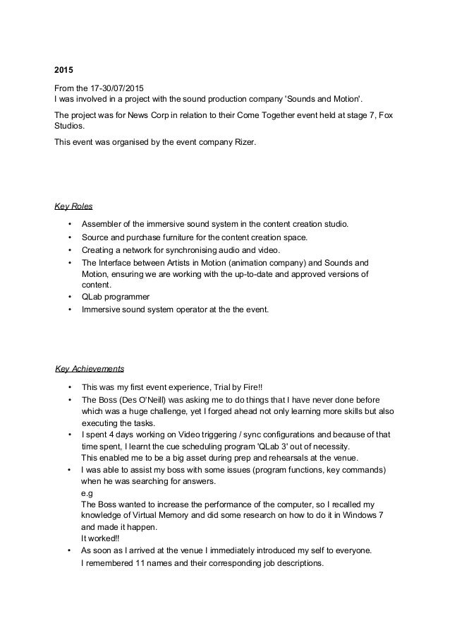 resume for assembly line worker