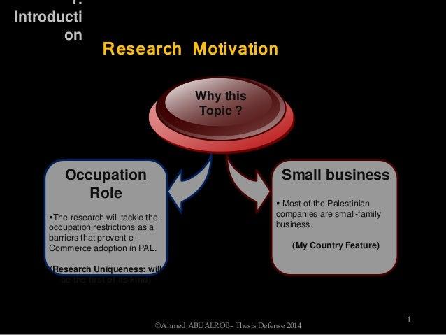 Barrier dissertation