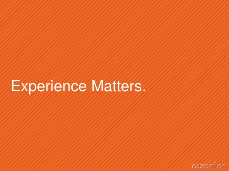 Experience Matters.<br />2<br />