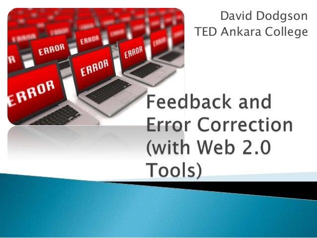 David Dodgson TED Ankara College