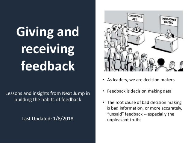 Toolkit for Employees: Giving and Receiving Feedback Slide 2