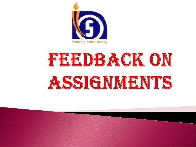 Teachers  ' transmit'  feedback  messages  to  students about what is right or wrong in their academic work,  about  its s...