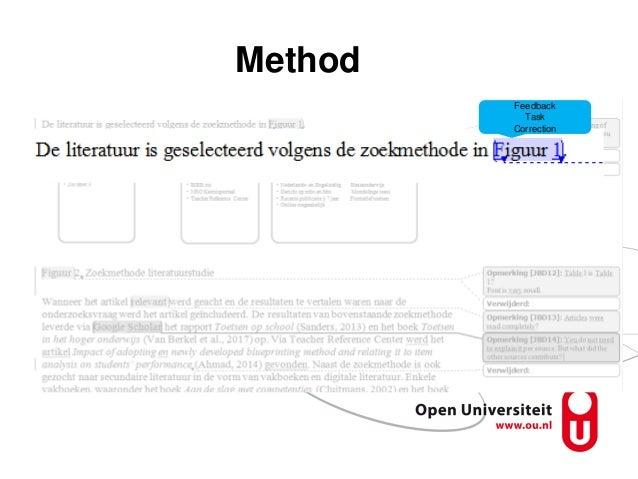 Method Feedback Task Correction