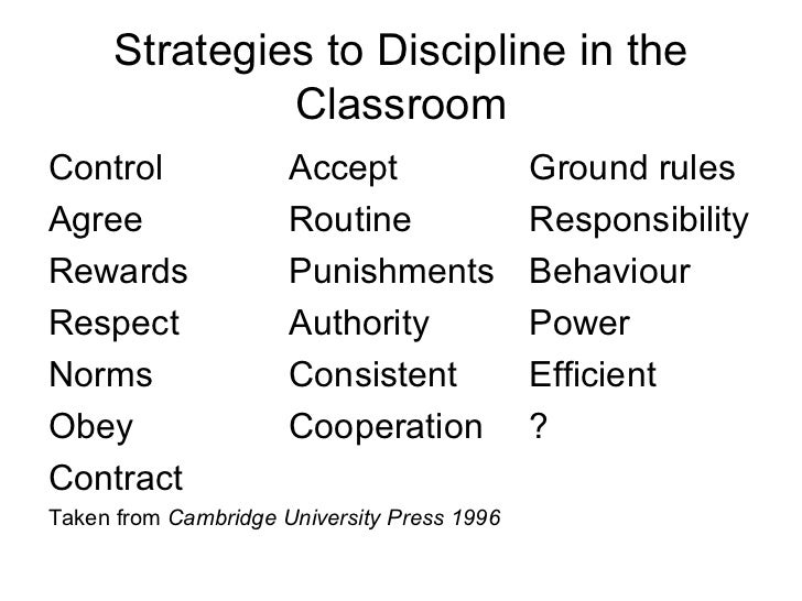 discipline is must for progress for students There are several areas of importance that students must gain competence in when learning learning an academic discipline from the us state department.