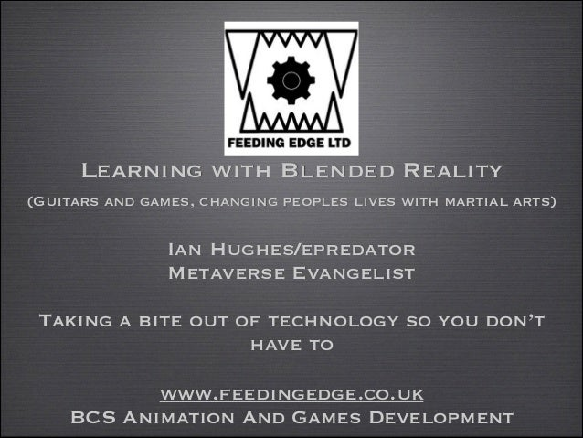 Learning with Blended Reality 