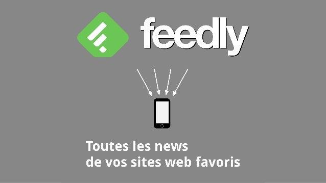 Feedly qu'est-ce que c'est ? Feedly est un outils qui permet d'importer et de lire les flux RSS de vos sites favoris ▶ Pou...