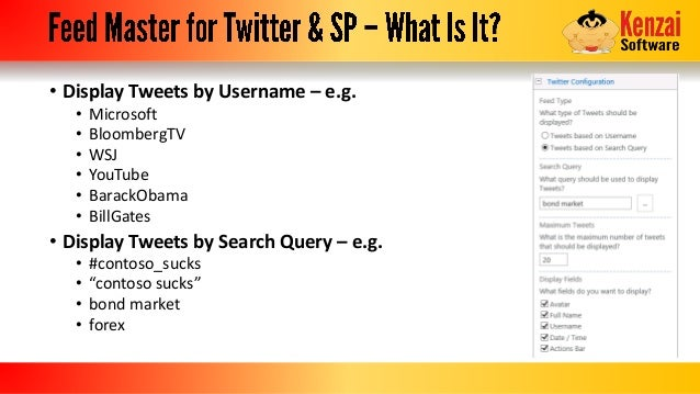 How To Add a Twitter Feed to Your SharePoint Site