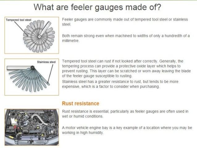 Feeler gauge ppt