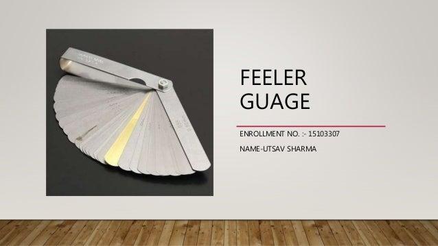 feeler guage