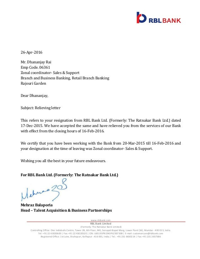 Letter To Request Information From Bank