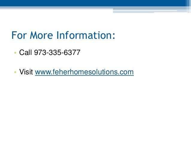 Feher Home Solutions New Jersey Roofing