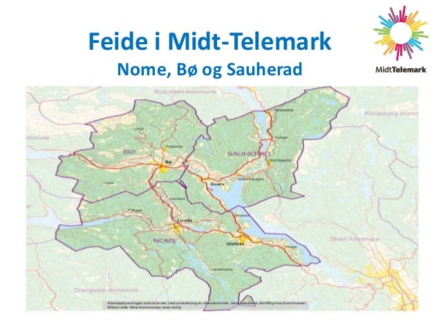 Feide i Midt-Telemark Nome, Bø og Sauherad