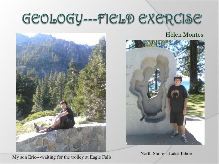Helen Montes                                                       North Shore---Lake TahoeMy son Eric---waiting for the t...