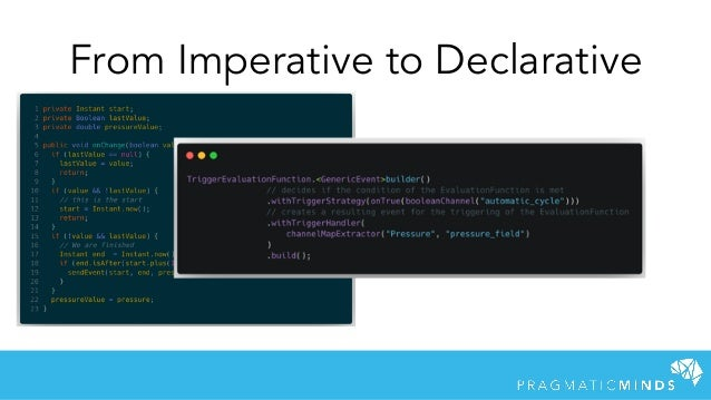 From Imperative to Declarative