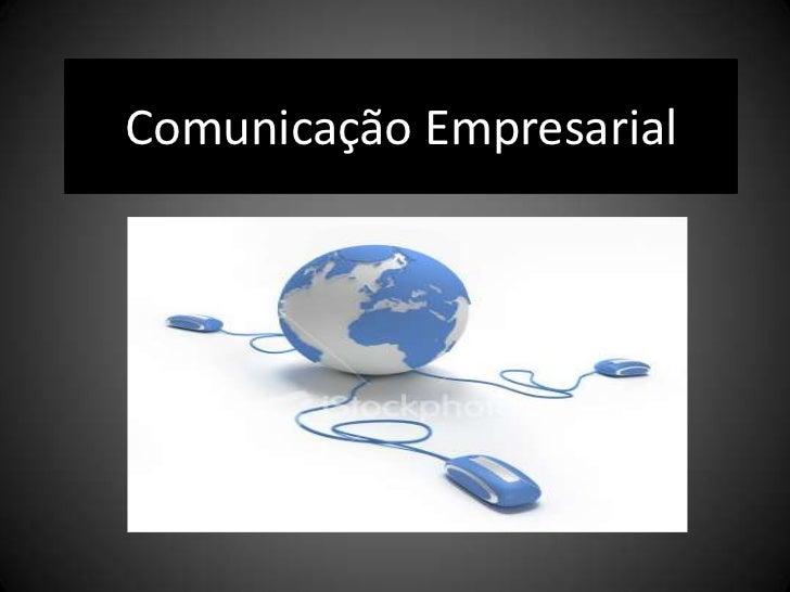 Comunicação Empresarial<br />