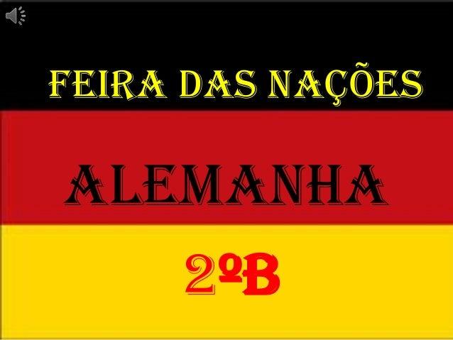 Feira das Nações  Alemanha 2ºB