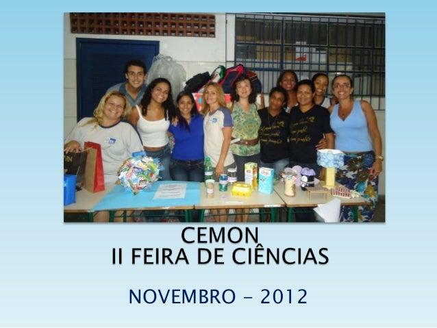 NOVEMBRO - 2012