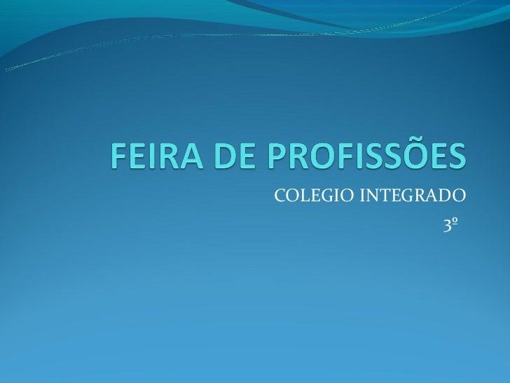 COLEGIO INTEGRADO               3º