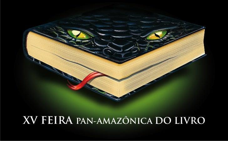 XV FEIRA PAN-AMAZÔNICA DO LIVRO