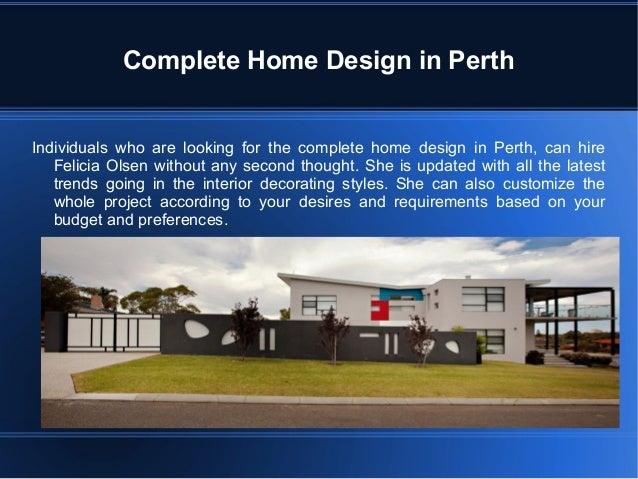 Interior Decorating Styles Perth