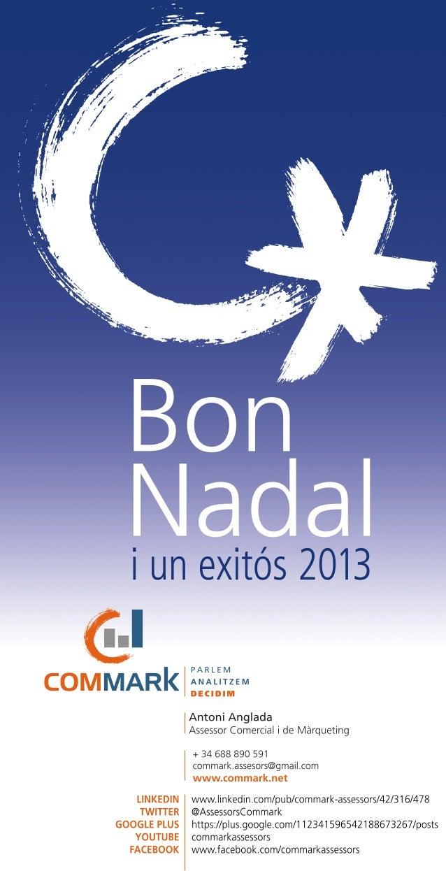 Felicitacio nadal commark 2013