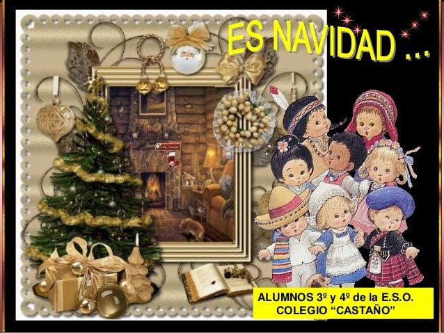 """ALUMNOS 3º y 4º de la E.S.O.  COLEGIO """"CASTAÑO"""""""