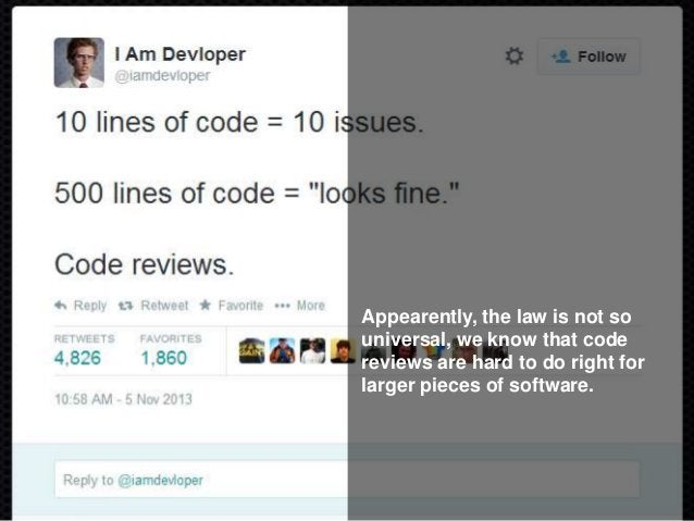More tied to bugs than any code metric They found that the opposite of Linus' law is true. The more people work on a piece...