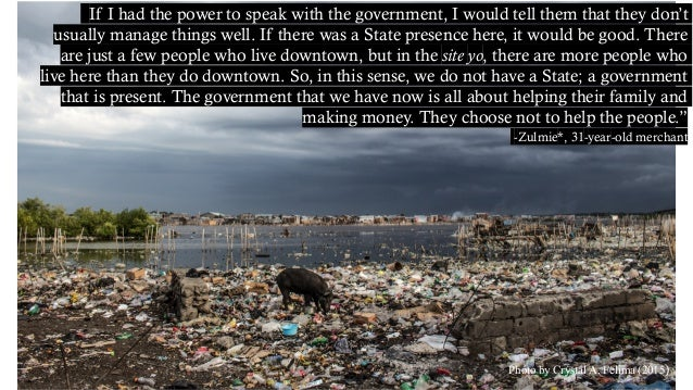 """Photo by Crystal A. Felima (2015) """"If I had the power to speak with the government, I would tell them that they don't usua..."""