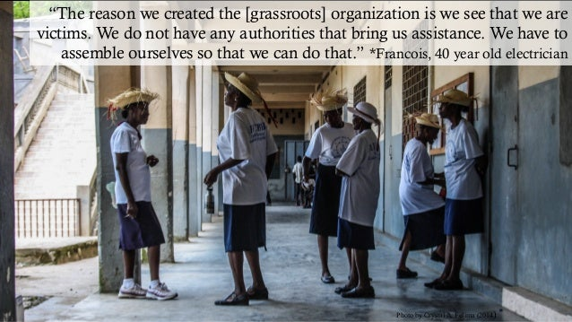 """Photo by Crystal A. Felima (2014) """"The reason we created the [grassroots] organization is we see that we are victims. We d..."""