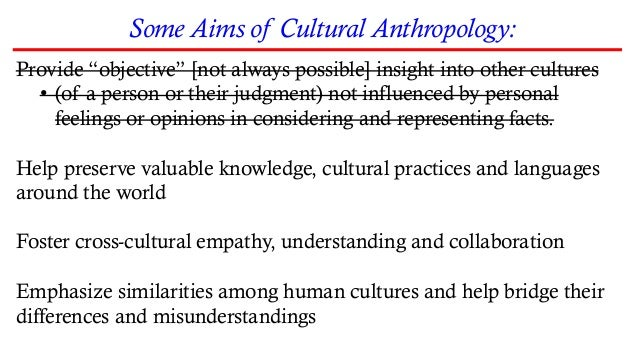 Fieldwork The practice in which an anthropologist is immersed in the daily life of a culture to collect data Data Collecti...